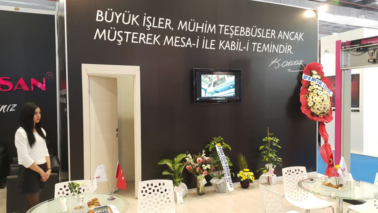 Istanbul 2015 Elevator and Technology Fair