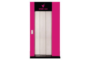 Telescopic 3 Panels Cabin Doors